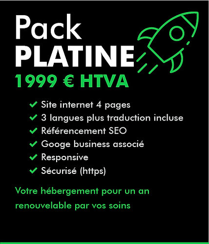 Pack PLATINE