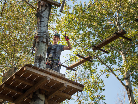 5 reasons to visit the Adventure Park in the fall