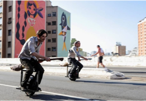 Broomstick scooters made by a Brazilian duo–a treat for Potter-heads