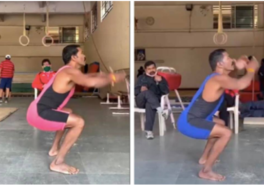 210 squats in 180 seconds: Former Kabaddi player to take another shot at the Guinness Book Record