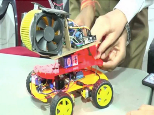 An 'Air Purifier Robot': Kanpur-based students do their bit for the environment