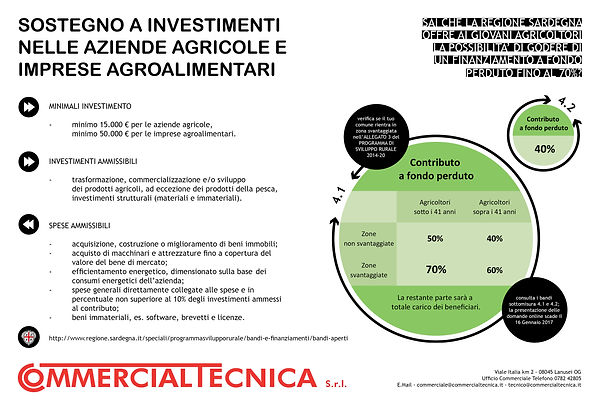 sostegno a investimenti imprese agroalimentari