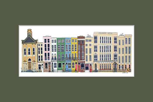 12x8in Westbourne Place, Cobh, Cork, Ireland.