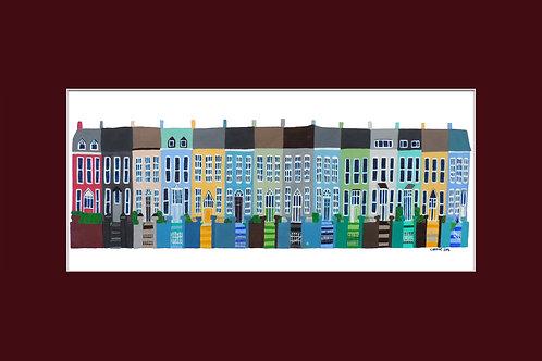 12x8in Toureen Terrace, Passage West, Cork, Ireland