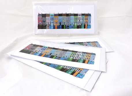 x5 Toureen Terrace Greeting Cards.