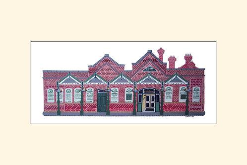 12x8in Heritage Centre, Cobh, Cork, Ireland.