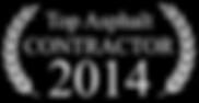 Top Asphalt Contractor 2014