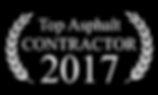 Top Asphalt Contractor 2017