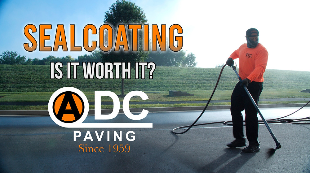 Asphalt Sealcoating can be tedious. When is the right time to sealcoat?