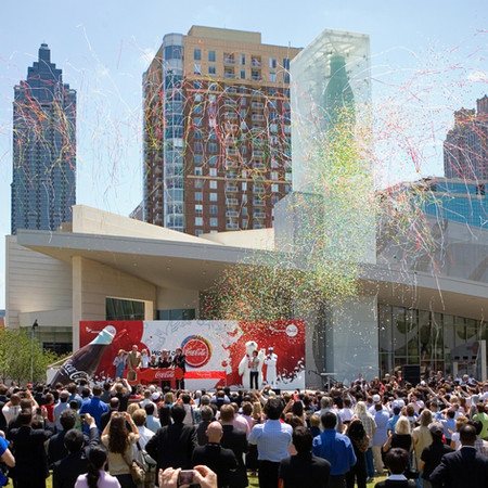 BRAND EXPERIENCE  |  Creative Director, The World of Coca-Cola Grand Opening