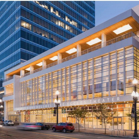 PLACE MAKING     Design and Construction, Eccles Theater and Cultural District