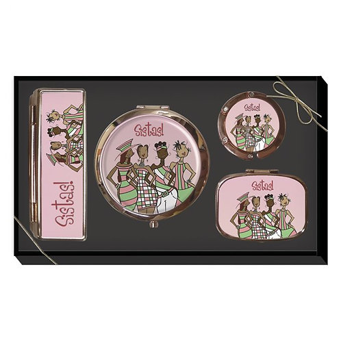 Pink Sistas! Purse Accessory Gift Set
