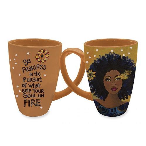 Soul On Fire Latte Mugs