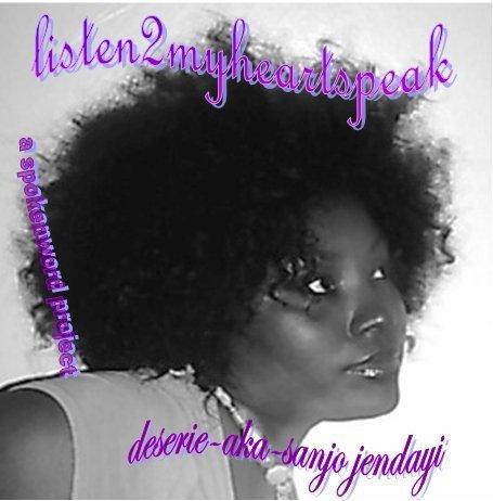 listen2myheartspeak Spokenword CD