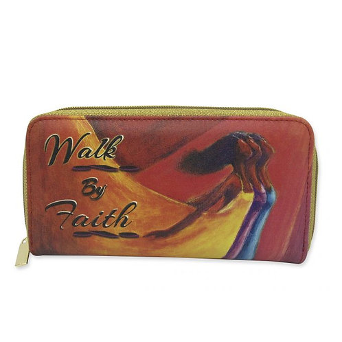 Walk By Faith Long Wallet