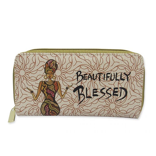 Beautifully Blessed Long Wallet