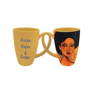 Proclaim, Prepare, & Prosper Latte Mug