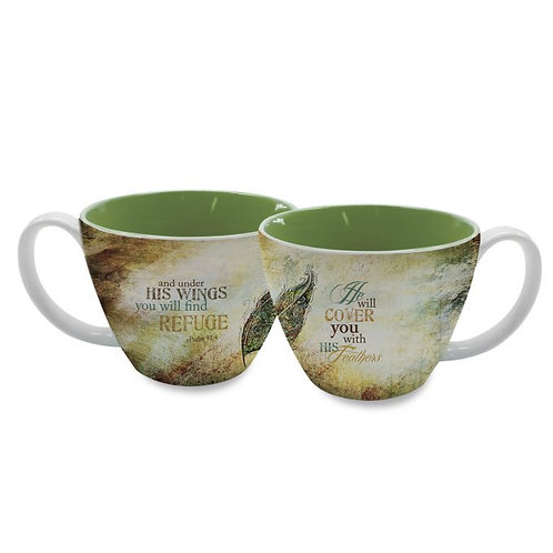 You Will Find Refuge Soup Mug