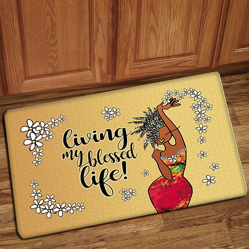 LIVING MY BLESSED LIFE INTERIOR FLOOR MATS
