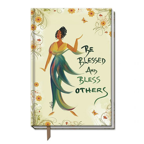 BE BLESSED AND BLESS OTHERS CIDNE WALLACE, LARGE CLOTH JOURNALS