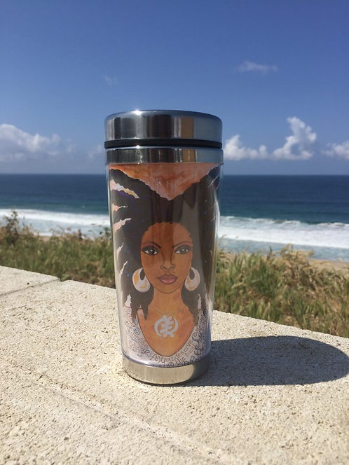 NUBIAN QUEEN Travel Mug