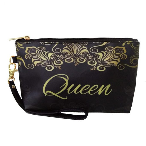 Black Queen Cosmetic Pouch
