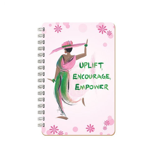UPLIFT, ENCOURAGE, EMPOWER LARGE JOURNALS