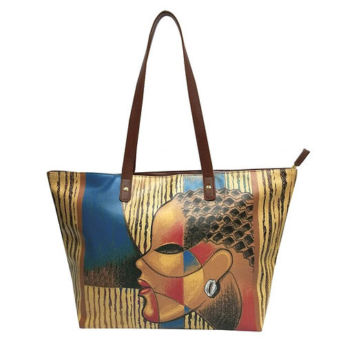 """COMPOSITE OF A WOMAN HANDBAGS, LARRY """"PONCHO"""" BROWN"""