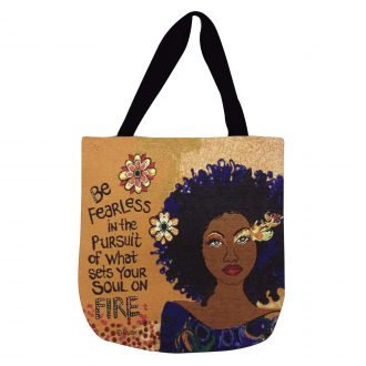 SOUL ON FIRE Woven Tote Bag