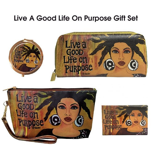 LIVE A GOOD LIFE ON PURPOSE GIFT SETS