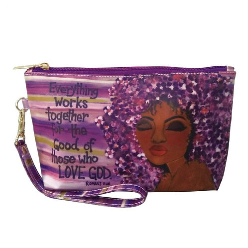 Everything Works Together Cosmetic Pouch