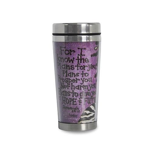 FOR I KNOW THE PLANS Travel Mug