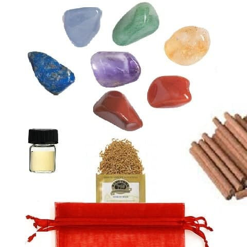 Complete Chakra Healing Kit