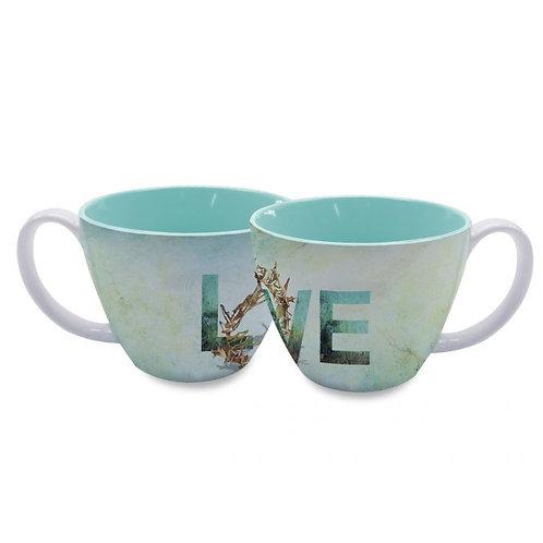 God's Unfailing Love Soup Mug