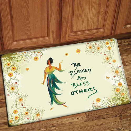 BE BLESSED AND BLESS OTHERS INTERIOR FLOOR MATS