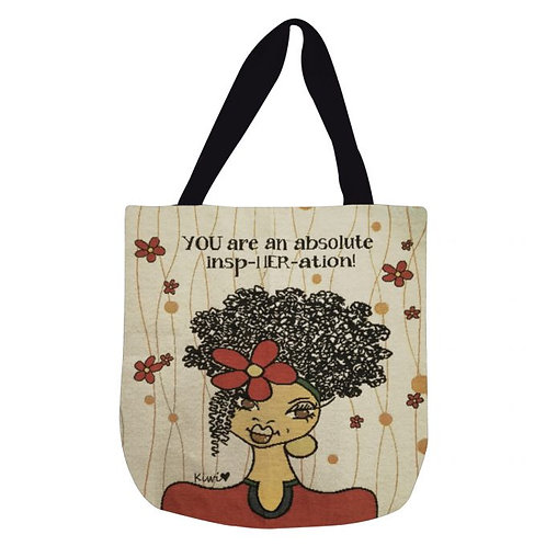 YOU ARE AN INSPHERATION WOVEN TOTE BAG