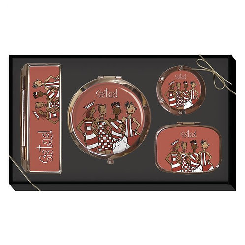 Red Sistas! Purse Accessory Gift Set