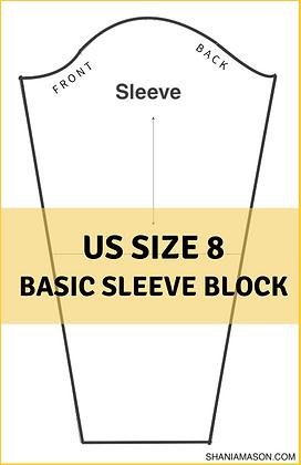 Women's Basic Sleeve Block Size 8