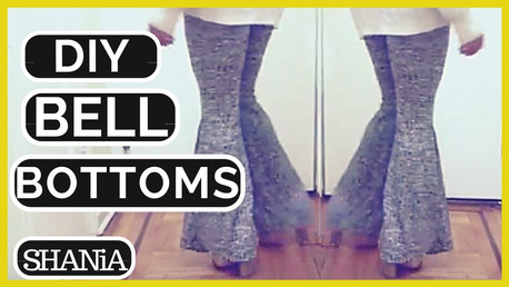 DIY Stretchy Bell Bottoms