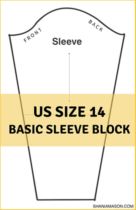 Women's Basic Sleeve Block Size 14