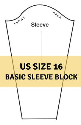Women's Basic Sleeve Block Size 16