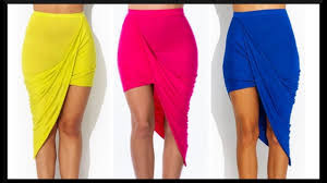 How To Make a Side Draped Skirt