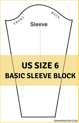 Women's Basic Sleeve Block Size 6