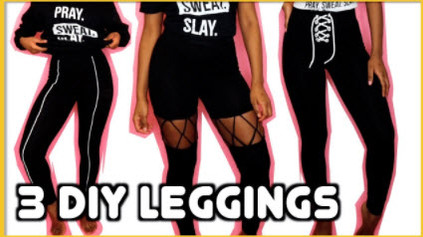 How to Revamp Leggings 3 Different Ways