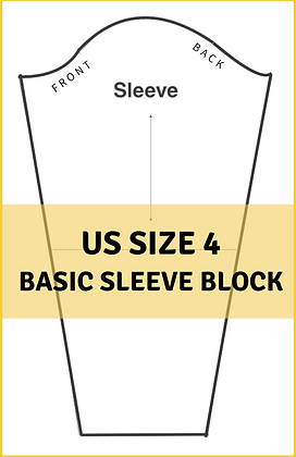 Women's Basic Sleeve Block Size 4
