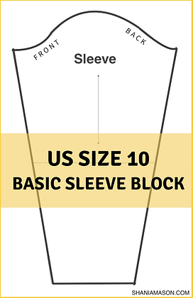 Women's Basic Sleeve Block Size10