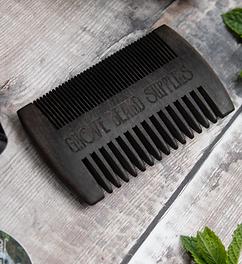 Black Wooden Comb