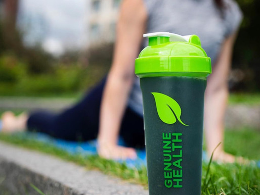 Recent Project: Genuine Health Shaker Bottles