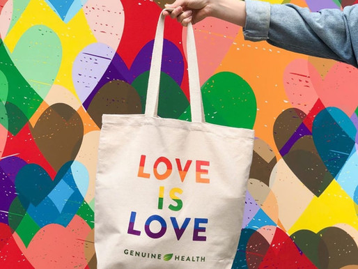 Recent Project: Genuine Health Pride Tote