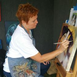 Painting Fiddler